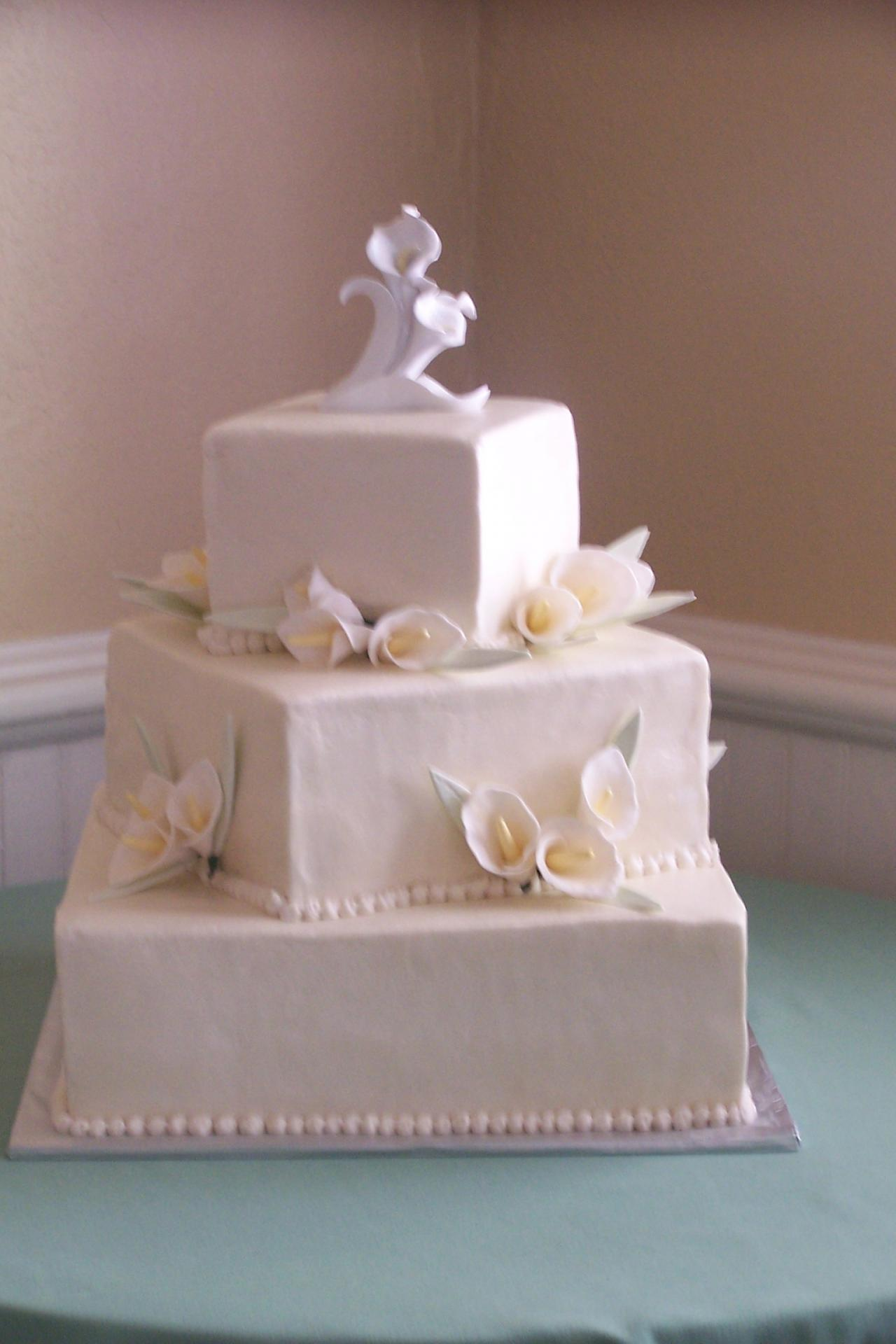 Just Desserts Bakery and Cafe - Wedding Cake Gallery